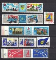 DDR Between 1977 - 1989, FDJ Freie Deutsche Jugend MMM Meister Von Morgen **, MNH - Vereine & Verbände