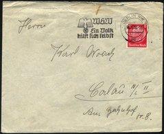 FELDPOST II. WK BELEGE 1938, Legion Condor: 12 Pf. Lebhaftrot Auf Feldpostbrief Des Angehörigen Angehörigen Der Legion C - Besetzungen 1938-45