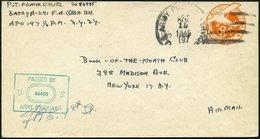 FELDPOST II. WK BELEGE 1945, Brief Aus Dem RUHRKESSEL Der Letzten Tage Des Deutschen Reiches, Amerikanischer Poststempel - Occupation 1938-45