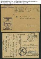 FELDPOST II. WK BELEGE 1940-45, 17 Feldpostbelege Mit Verschiedenen Briefstempeln Aus KIEL, Dabei Segelschulschiff Gorch - Besetzungen 1938-45