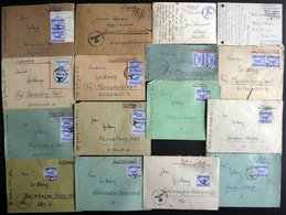 FELDPOST II. WK BELEGE über 40 Belege II.WK, Fundgrube, Etwas Unterschiedlich, Besichtigen! - Besetzungen 1938-45