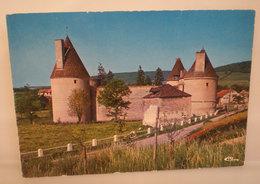 Posanges CHATEAU CASTLE CASTELLO Francia  Cartolina 1983 - Castles