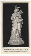 Santino Antico Madonna Della Rocca Da ALESSANDRIA DELLA ROCCA - AGRIGENTO - Religione & Esoterismo