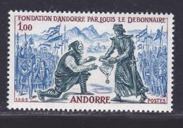 ANDORRE N°  169 ** MNH Neuf Sans Charnière, TB (D8559) Fondation D'Andorre Par Louis Le Débonnaire - 1963-64 - Andorre Français