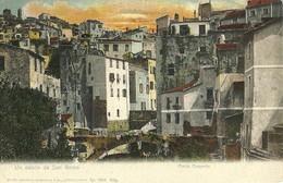 """2700 """" UN SALUTO DA SAN REMO - PONTE CIAPELLA  """" CARTOLINA POSTALE ORIG. NON SPEDITA - San Remo"""
