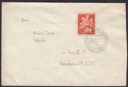 GERMANIA REICH -  1943 - Busta Viaggiata Con Yvert 776 E Timbro Di Vienna. - Allemagne