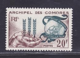 COMORES N°   26 ** MNH Neuf Sans Charnière, TB (D8561) Campagne Mondiale Contre La Faim - 1963 - Isla Comoro (1950-1975)