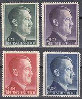 ALLEMAGNE -  DEUTSCHLAND - GERMANIA - 1941/1942 - Quattro Valori Nuovi Senza Gomma: Yvert 723/726. - Germania
