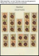 SAMMLUNGEN Aus 2864-3346 **, Fast Komplette Sammlung Zusammendrucke Von 1984-90 Mit Guten Mittleren Ausgaben Im Borek Sp - Deutschland