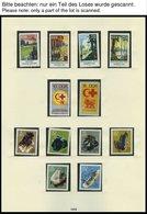 SAMMLUNGEN **, Komplette Postfrische Teilsammlung DDR Von 1967-73 Im SAFE Falzlosalbum, Prachterhaltung - Deutschland