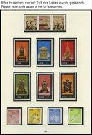SAMMLUNGEN **, Komplette Postfrische Teilsammlung DDR Von 1974-78 Im SAFE Falzlosalbum, Prachterhaltung - Deutschland