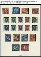 SAMMLUNGEN O, überkomplette Gestempelte Sammlung DDR Von 1949-83 In 5 SAFE Falzlosalben, Mit Diversen Zusammendrucken Un - Deutschland