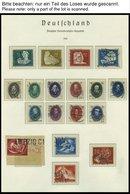 SAMMLUNGEN O, Von 1949-66 Gestempelte Sammlung DDR, Die Marxblocks Nur Gezähnt Vorhanden, Sonst Bis Auf Mi.Nr. 334 Und 3 - Deutschland