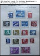 SAMMLUNGEN O,*,** , Meist Gestempelte Saubere Sammlung DDR Bis 1976 In 2 Schaubek Alben, Die Ersten Jahre Recht Vollstän - Deutschland