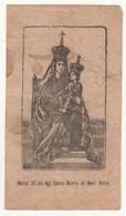 Santino Antico Inizi 900 Madonna SS Del Sacro Monte Da Novi Velia - Salerno - Religione & Esoterismo