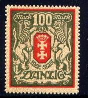 DANZIG, NO. 95, MH - Dantzig