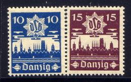 DANZIG, SET, NO.'S 219-220, MLH - Dantzig