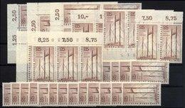 ENGROS 157 **, 1956, 25 Pf. Industrie-Ausstellung, 43x, Pracht, Mi. 322.50 - Deutschland