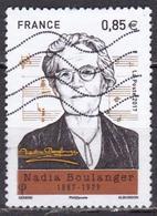 """LOTE 1829   ///   (C015) FRANCE Nouveauté De 2017 Oblitérée """"Nadia Boulanger"""" - France"""
