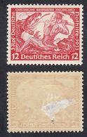 GERMANIA - ALLEMAGNE - REICH - 1933 - Yvert 475 Di Seconda Scelta, Nuovo Con Visibile Abrasione Sul Retro. - Germania