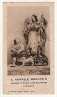 Santino Antico San Raffaele Arcangelo Da Napoli - Religione & Esoterismo