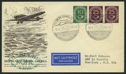 GANZSACHEN PU 6 BRIEF, 1953, Privat-Ganzsachenumschlag 10 + 25 + 25 Pf. Posthorn, Sonderstpl. ULM, Pracht - Deutschland