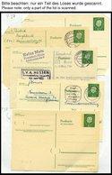 GANZSACHEN Sammlung Von über 1000 Ganzsachen Bundesrepublik Von 1954-98, U.a. Bildpostkarten, FDC-Umschläge Mit Diversen - Deutschland