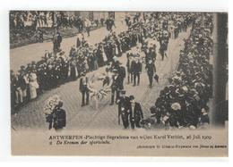 ANTWERPEN - Plechtige Begrafenis V Wijlen Karel Verbist 1909 2. De Kronen Der Sportclubs - Antwerpen