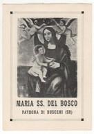 Santino Antico Maria SS Del Bosco Da BUSCEMI - Siracusa - Religione & Esoterismo