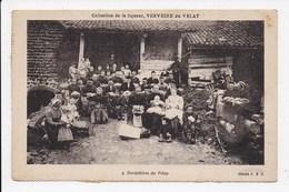 CPA 43 Dentelliers Du VELAY  Collection De La Liqueur Verveine Du Velay - Unclassified