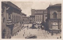 """CARTOLINA - POSTCARD - BOLOGNA -  """" LE BELLEZZE D' ITALIA ,, PIAZZA NETTUNO - Bologna"""