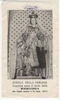 Santino Antico Madonna Della Misericordia Da Meta Di Sorrento - Napoli - Religion & Esotericism