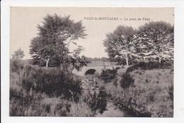CPA 23 FAUX LA MONTAGNE Le Pont De Faux - France
