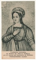 Santino Antico Madonna Della Stella Da FOSCIANDORA - LUCCA - Religione & Esoterismo