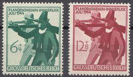 ALLEMAGNE -  DEUTSCHLAND - GERMANIA - 1944 - Serie Completa Nuova MNH Yvert 817/818; 2 Valori. - Germania