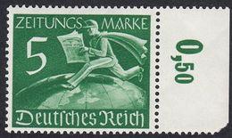 GERMANIA REICH -  1939 - Francobollo Per Giornali Nuovo MNH Yvert 1 Con Margine Di Foglio. - Germania
