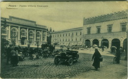 PESARO - PIAZZA VITTORIO EMANUELE - EDIZ. BELLOTTI 1930s  (3036) - Pesaro