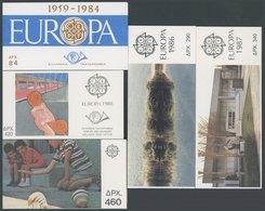 GRIECHENLAND Aus MH 1-12 O, 1984-89, 5 Verschiedene Markenheftchen, Pracht, Mi. 103.- - Grèce