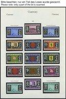 GUERNSEY **, Komplette Postfrische Sammlung Guernsey Von 1969-83 Auf KA-BE-Seiten, Prachterhaltung, Mi. 270.- - Guernsey