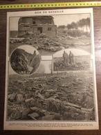 DOCUMENT GUERRE 14/18 SOIR DE BATAILLE CHAMPS COUVERT DE MORTS DOUAUMONT - Old Paper