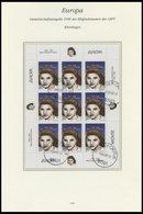 MAZEDONIEN 74/5KB O, 1996, Berühmte Frauen In Kleinbogen, Pracht, Mi. 160.- - Macedonie