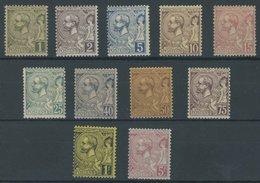 MONACO 11-21 *, 1819, Fürst Albert I, Falzreste, Prachtsatz, Mi. 850.- - Monaco