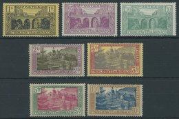 MONACO 97-103 **, 1925, Ansichten, Postfrischer Prachtsatz, Mi. 100.- - Monaco