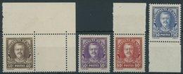 MONACO 116-19 **, 1933, Fürst Louis II, Prachtsatz, Mi. 110.- - Monaco