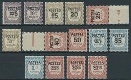 MONACO 149-62 **, 1937, Postauftragsmarken, Prachtsatz, Mi. 150.- - Monaco