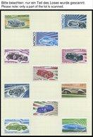 SAMMLUNGEN, LOTS *, Bis Auf Einige Wenige Werte Komplette Ungebrauchte Sammlung Monaco Von 1971-84, Prachterhaltung - Monaco