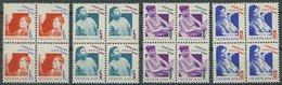 NIEDERLANDE 245-48A VB **, 1931, Voor Het Kind, Gezähnt K 121/2, In Viererblocks, Prachtsatz, Mi. 480.- - Niederlande