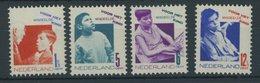 NIEDERLANDE 245-48A **, 1931, Voor Het Kind, Gezähnt K 121/2, Postfrischer Prachtsatz, Mi. 120.- - Niederlande