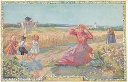 AK Die Deutsche Ernte Reift - Schön, München - Wohlfahrts-Ausschuß F D Angehörigen Der Kriegsteilnehmer - 1. WK (39564) - Guerre 1914-18