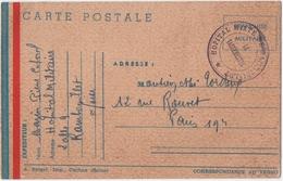 MILITARIA. 39-45. CACHET HOPITAL MIXTE De RAMBOUILLET. FRANCHISE MILITAIRE.1940. - Guerre 1914-18
